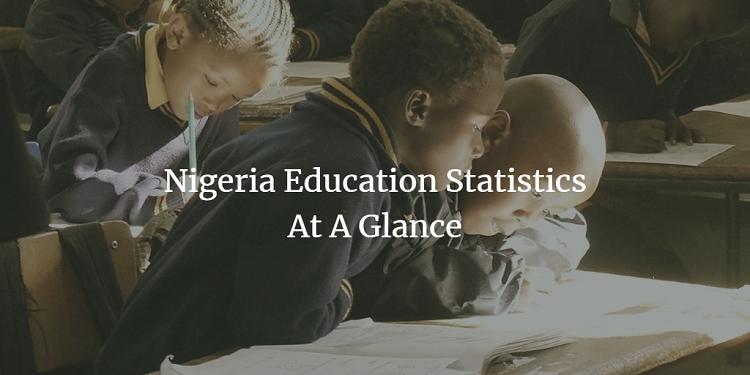 education statistics in Nigeria at a glance