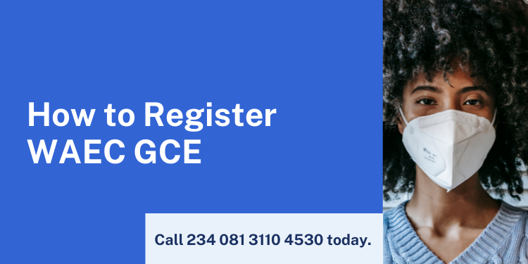how to apply for waec gce registration